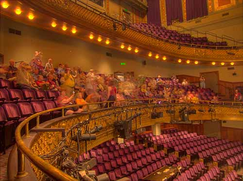 Inside view of American Conservatory Theatre San Francisco
