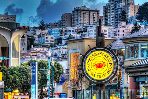 Nice photo of Fishermans Wharf San Francisco